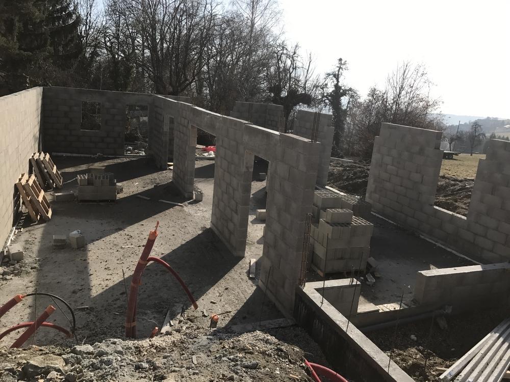 construction maison individuelle viuz en sallaz