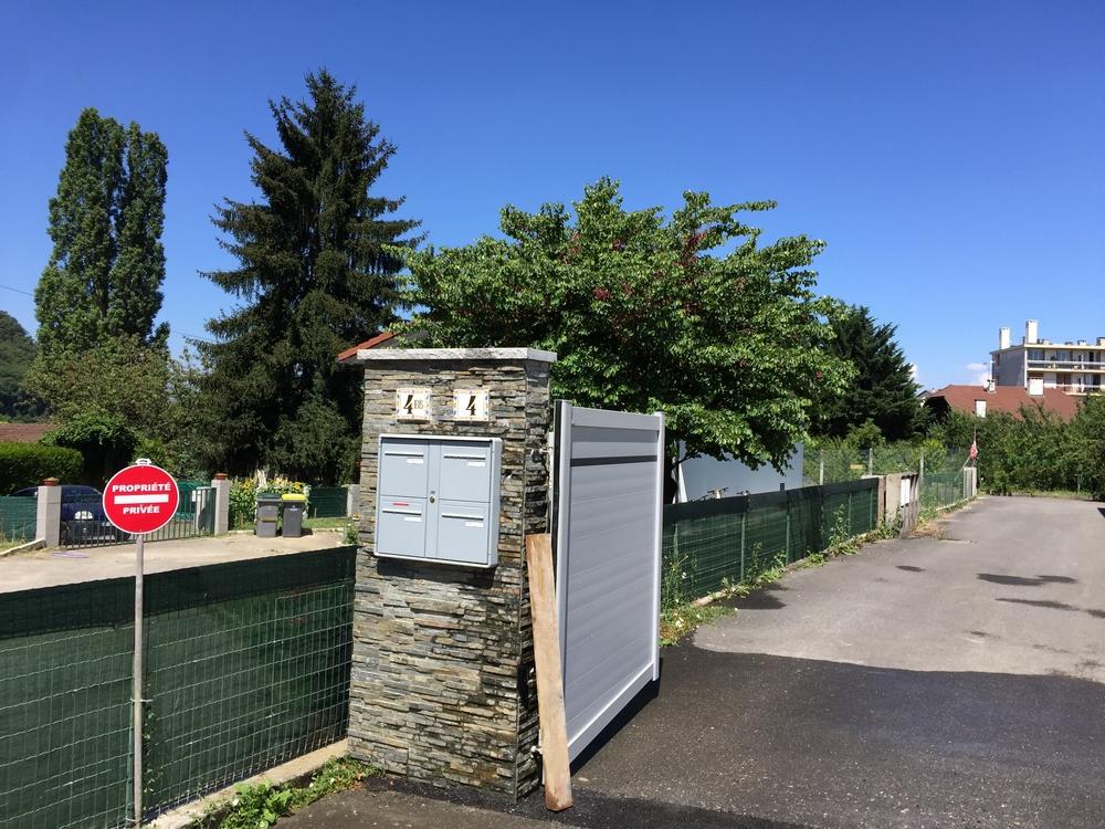 portail pilier annemasse
