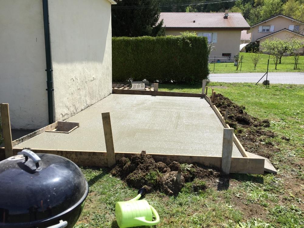 terrasse beton etrembieres