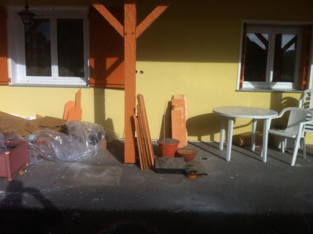 Terrasse et VRD a Amphion