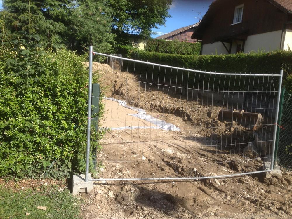 Terrassement VRD Construction Drainage Viry