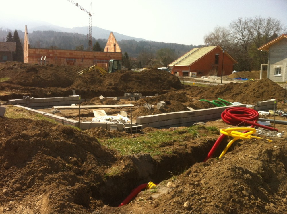 Terrassement VRD Construction Saint Pierre
